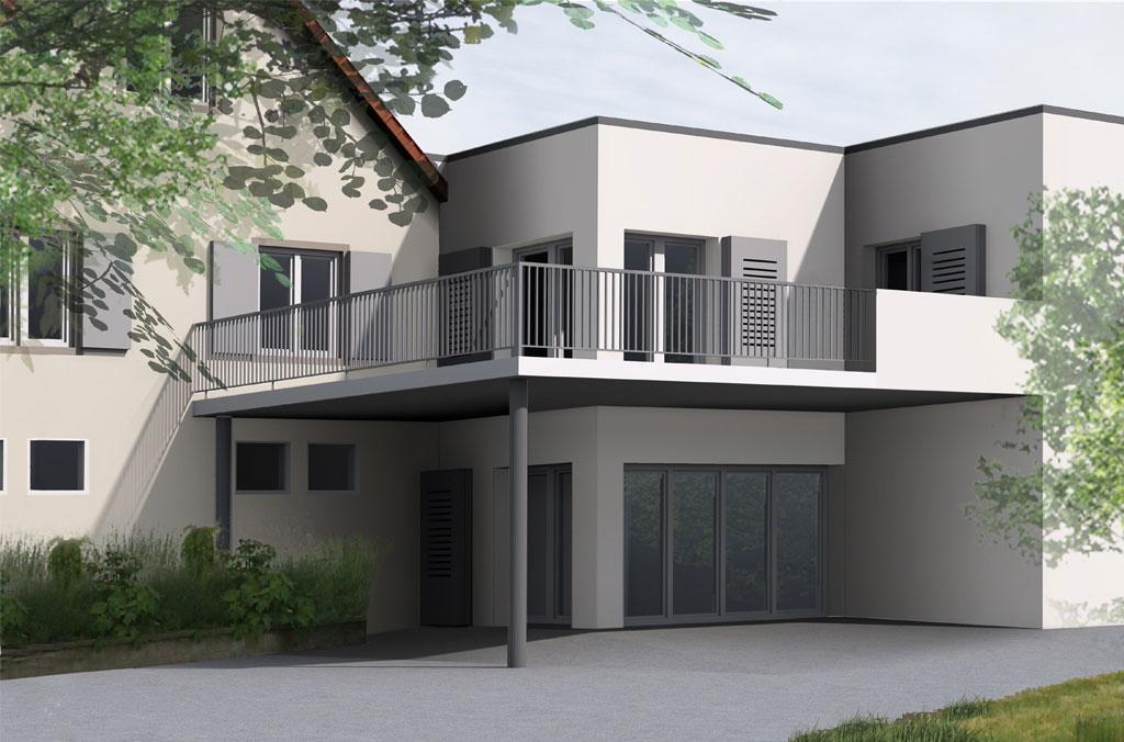 extension d 39 une maison individuelle nks architecture. Black Bedroom Furniture Sets. Home Design Ideas