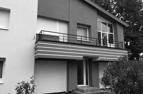 Réhabilitation d'une maison existante à Strasbourg