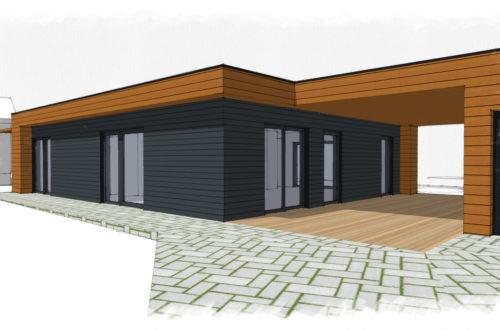 maison structure bois à Garrebourg (57)