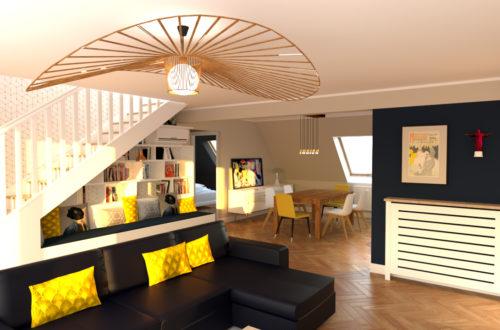 Réaménagement d'un appartement Strasbourg-Neudorf