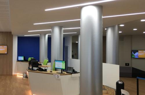 Réaménagement complet de l'agence ES Electricité de Strasbourg